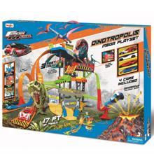 Maisto mai_Dinotropolis Mega Playset სათამაშოების ტრასა