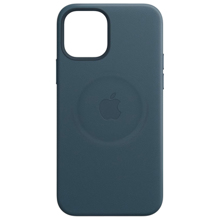 Apple iPhone 12 mini Leather Case with MagSafe Baltic Blue ქეისი