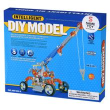 Same Toy DIY Model მეტალის კონსტრუქტორი
