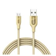 მობილურის კაბელები Anker A81430B1 Golden