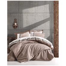 Cozy Home ორსაწოლიანი რენფორსის თეთრეულის კომპლექტი Rosinda Beige