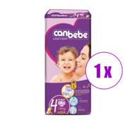 1 შეკვრა ბავშვის საფენი მეგა მაქსი ქანბებე 54 ც