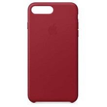 Apple Leather Case for iPhone 8/7 Plus (PRODUCT) RED ქეისი