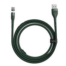 baseus zinc magnetic cable usb 2.4A/3A USB კაბელი