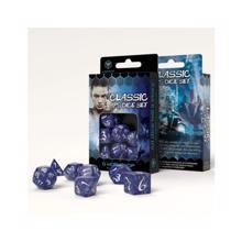 Q-WORKSHOP კამათელი - 7set Classic RPG DICE (Cobalt)