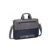 ნოუთბუქის ჩანთა Rivacase 7737 blue/grey