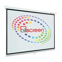 "ALLSCREEN CWP-11879 Manual Projection Screen 141"" პროექტორის ეკრანი"