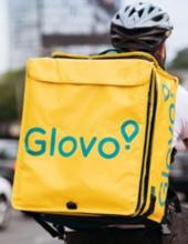 იყიდება გლოვოს ჩანთა ( glovo)