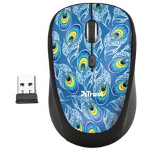 TRUST Yvi Wireless Peacock მაუსი