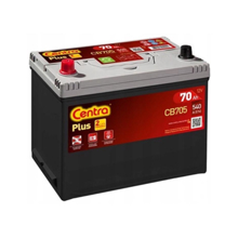 Centra აკუმულატორი Centra PLUS CB705 70 A/h L JIS