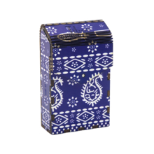 Tibox • ტიბოქს ხის ყუთი Blue Table