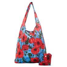 Eco Chic Blue Poppies Shopper ჩანთა