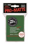 SLEEVES Pro-Matte Green (50 ცალი) ბარათების დამცავი