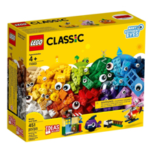 LEGO Classic- კუბიკები და თვალები