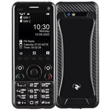 2E Mobile phone E240 POWER Dual SIM Black