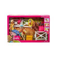 Barbie თოჯინა ბარბი აქსესუარებით