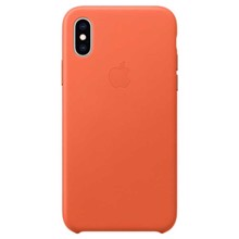 Apple Leather Case for iPhone XS Sunset ქეისი
