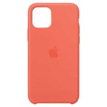 Apple Silicone Case for iPhone 11 Pro Clementine ქეისი