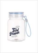 ბოთლი (330მლ)/Portable Borosilicate Water Bottle 330ml (Blue)