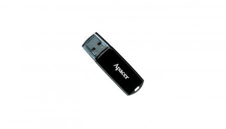 BD Comp USB ფლეშ მეხსიერება APACER AH322 32GB USB2.0 (AP32GAH322B-1) Black
