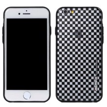 REMAX Pattern-3 for iPhone 6/6s Plus Black/White ქეისი