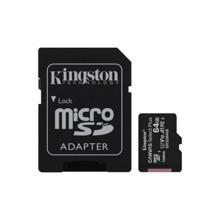 KINGSTON Canvas Select Plus with Adapter 64GB მეხსიერების ბარათი