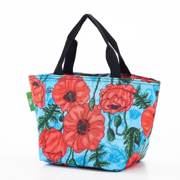 Eco Chic Blue Poppies Lunch Bag - ჩანთა