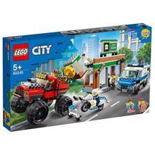 lego CITY პოლიციის ოპერაცია მონსტრ მანქანაზე