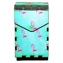 Tibox • ტიბოქს ხის ყუთი Flamingos