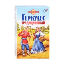 """Русский Продукт შვრიის გერკულესი """"ტრადიციული"""" 420 გრ"""