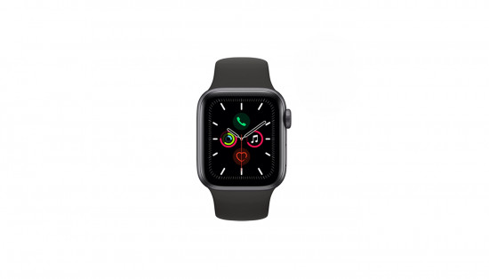 CANYON სმარტ საათი Apple Watch Series 5 40mm Space Gray Aluminum Case Black Sport Band GPS MWV82