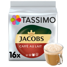Tassimo ყავის კაფსულა Tassimo Jacobs Cafe Au Lait
