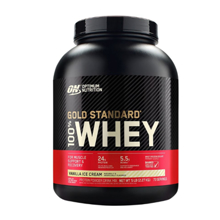 Optimum Nutrition Whey Gold Standard Vanilla Ice Cream პროტეინი 2.27 კგ
