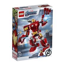 LEGO SUPER HEROES მექანიკური რკინის კაცი