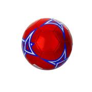ფეხბურთის ბურთი L327 წითელი / ლურჯი
