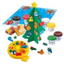 Playgo პლასტილინის ნაკრები - საახალწლო ნაძვის ხე