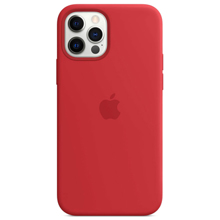 Apple iPhone 12/12 Pro Silicone Case with MagSafe Red ქეისი