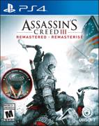 Sony PS4 ASSASINS CREED 3 REMASTERED