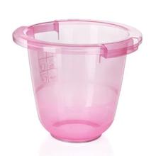 ბავშვის აბაზანა ვარდისფერი