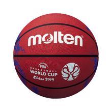 კალათბურთის ბურთი MOLTEN B7C1600 მსოფლიო თასი 2019 წითელი