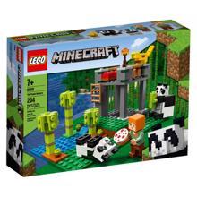 LEGO MINECRAFT პანდა ბაგა