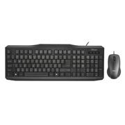 კლავიატურა და მაუსი Trust Classicline Wired Keyboard with mouse