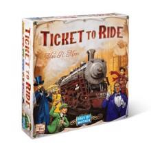 Film House Ticket to ride (USA ხის ფიგურებით)