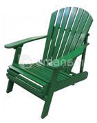 """სკამი-შეზლონგი ხის """"ფარშევანგი"""" 75x90x90 სმ"""