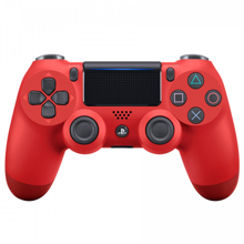 Sony PS4 Dualshock 4 Cont Magma Red კონტროლერი