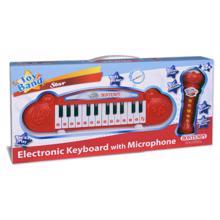 Bontempi კარაოკე წითელი მიკროფონით