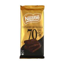 Nestle მწარე შოკოლადის ფილა 70% 90 გრ