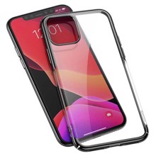 Baseus WIAPIPH61S-A01 for iphone 11 Transparent/Black ქეისი
