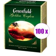 1 შეკვრა შავი ჩაი ერთჯერადი Greenfleld 100 ც