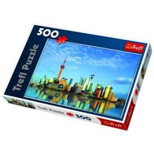 TREFL Puzzles 500 Shanghai China ფაზლი